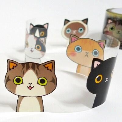 Illust tape -cat