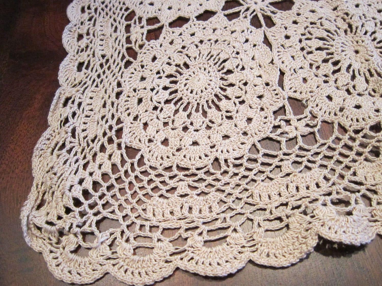 Crocheted Table Runner Patterns Crochet And Knitting