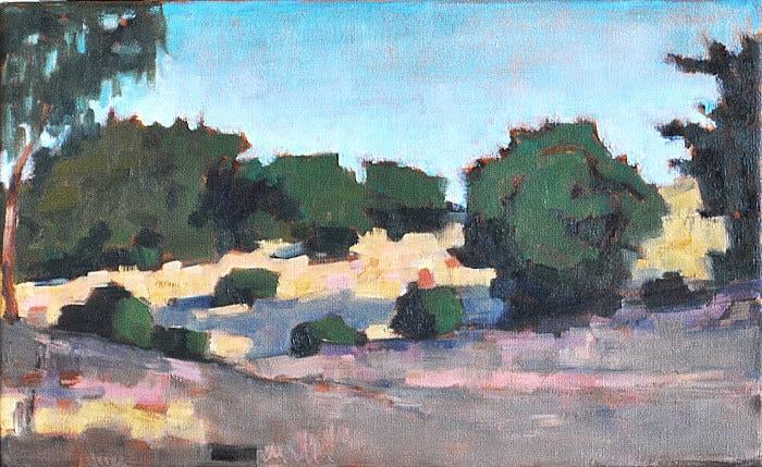 Balboa Park, San Diego, California landscape painting