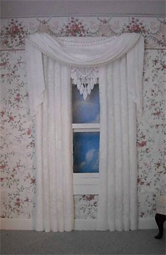 Doll House Curtains, Doll House Accessories