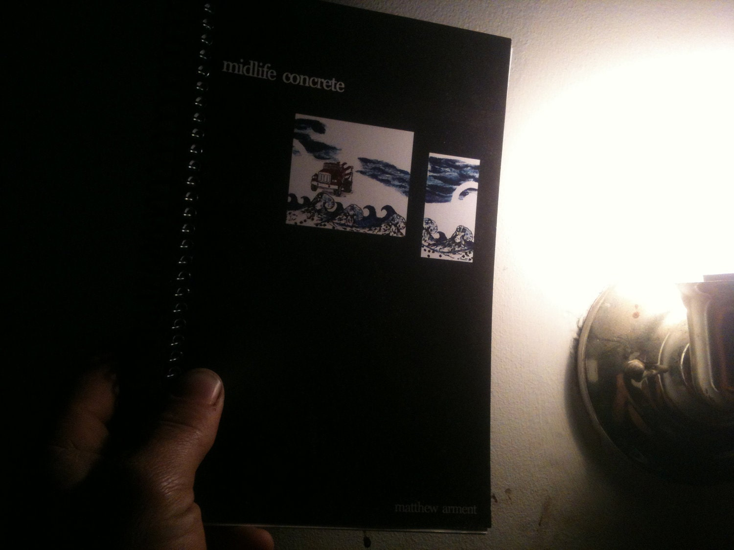 ... 167 page non fiction first release by ametuer writer and concrete maniac