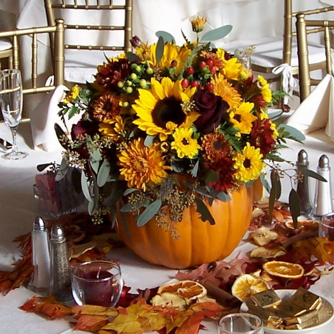 Leddies Blog Fall Black Pink Silver White Centerpiece Centerpieces Indoor Reception Place