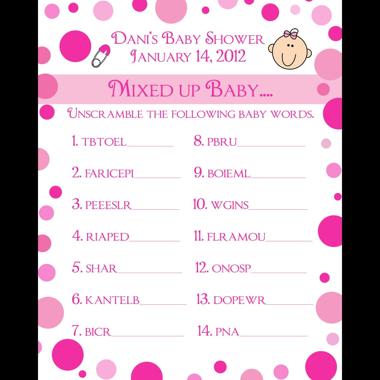 Baby Shower Juegos Divertidos Originales Poussettes