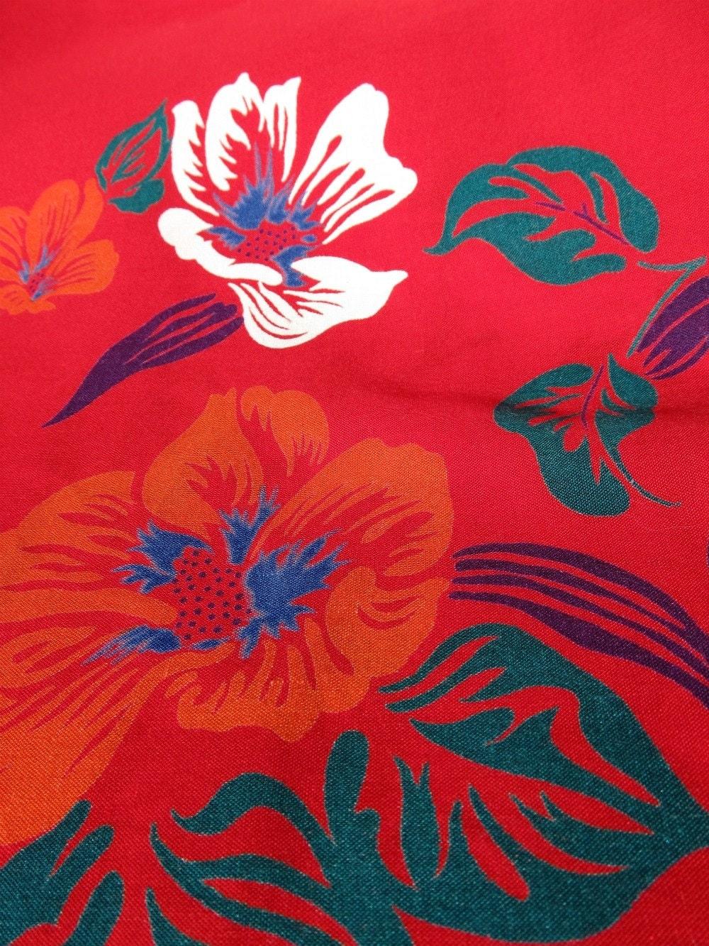 Sea Sand Vintage Blog New Hawaiian Tropical Floral Print Fabrics