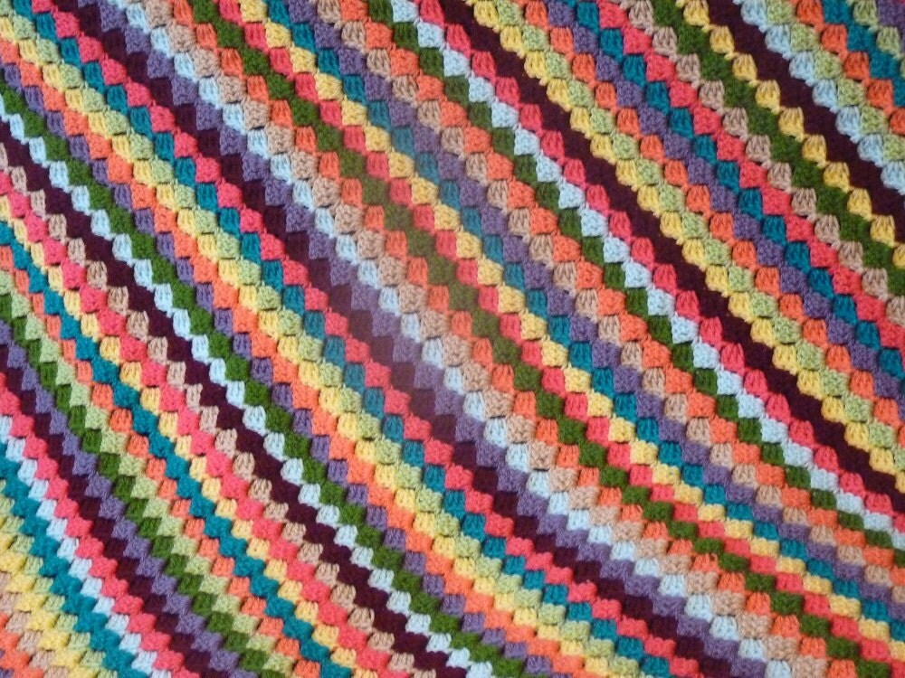 Crochet Quilt Afghan : Crocheted Afghans for Babies - Crochet Baby Afghans Blankets