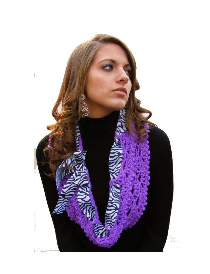 Splash  Deco Ribbon Scarf (Free) - Yarn Superstore -- Knitting