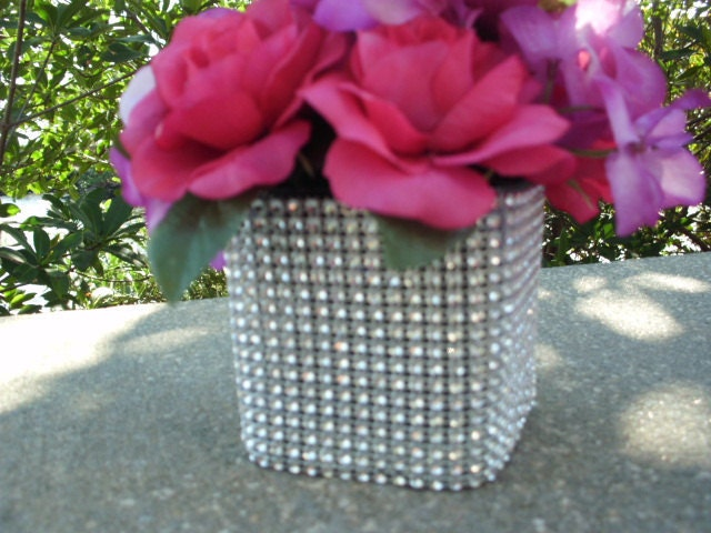 10 BLING Wedding Decorating Vases Bouquet Holders Centerpieces