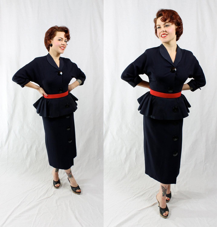 MarMar Vintage: Spring fashion 2012 trend -- Peplum