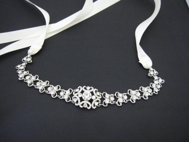 Terasa 39 S Blog Bridal Crystal Headbands Bridal Headband