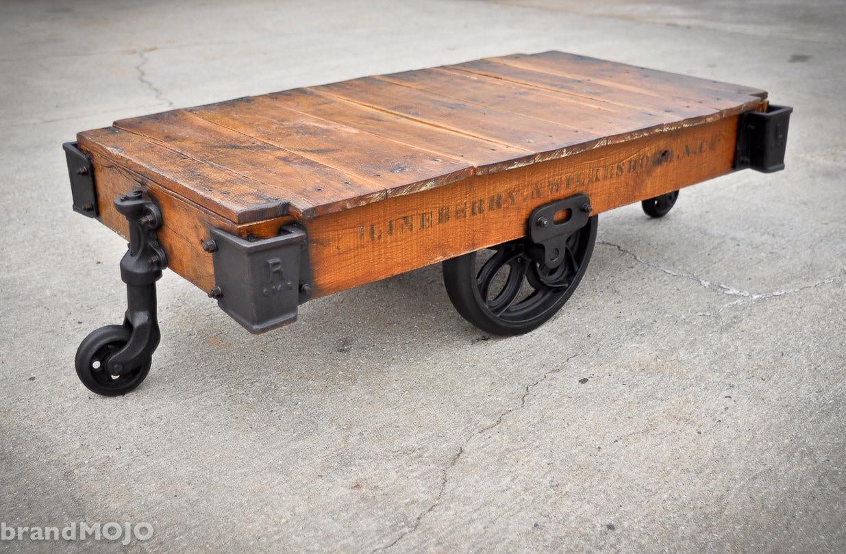 Antique Cart Coffee Table Antique Car
