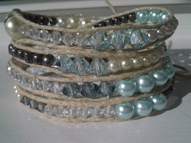 Charcoal Gray Elegant Light Blue Something Blue Wedding Prom Crystal Pearl