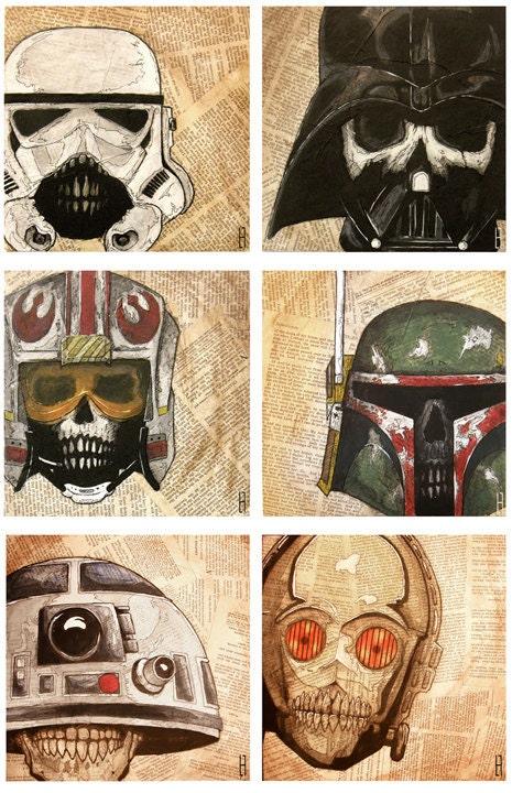 crânes star wars