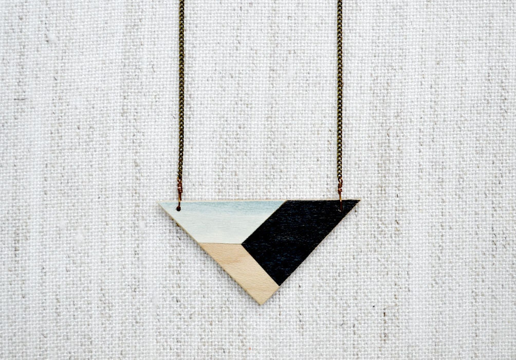 Meghann Rader Handpainted Geometric Jewelry