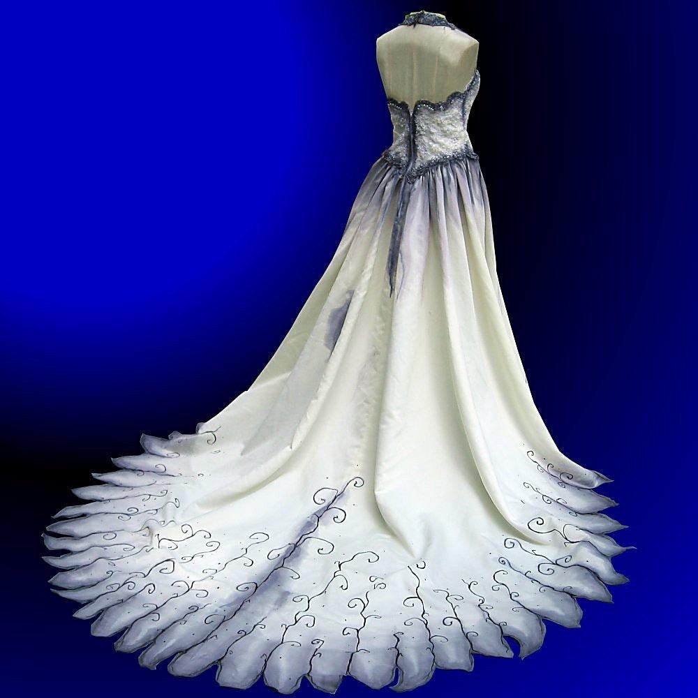 Gothic wedding gown